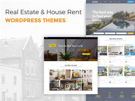 Wordpress Themes Rent House | real estate and house rent wordpress themes wp daddy