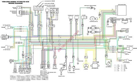 750 honda shadow wiring diagram 2009 get free image