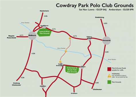 How To Find On Maps Contact Cowdray Park Polo Club