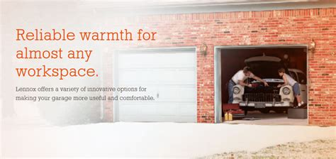 Lennox Garage Heater by Lennox Garage Heaters Heating And Air Conditioning Omaha