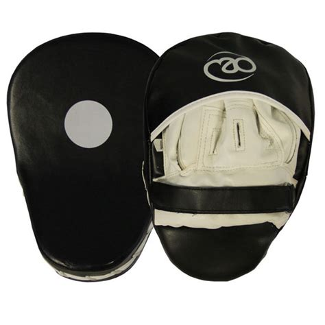 boxing mad curved synthetic leather focus pads