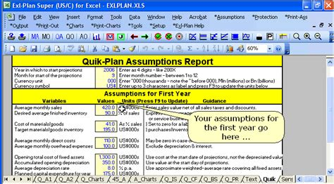 Excel Business Plan Template Adktrigirl Com Free Financial Business Plan Template