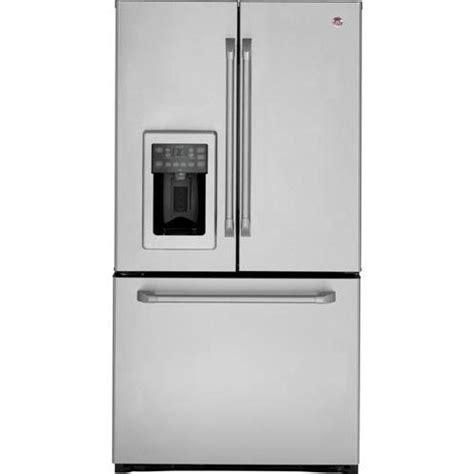 ge cafe door refrigerator ge cafe cfsp5rkbss 36 25 1 cu ft door