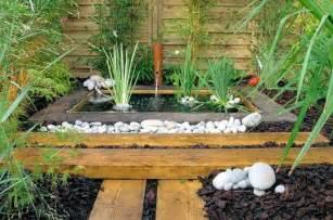 petit bassin zen les jardins zen journal des femmes