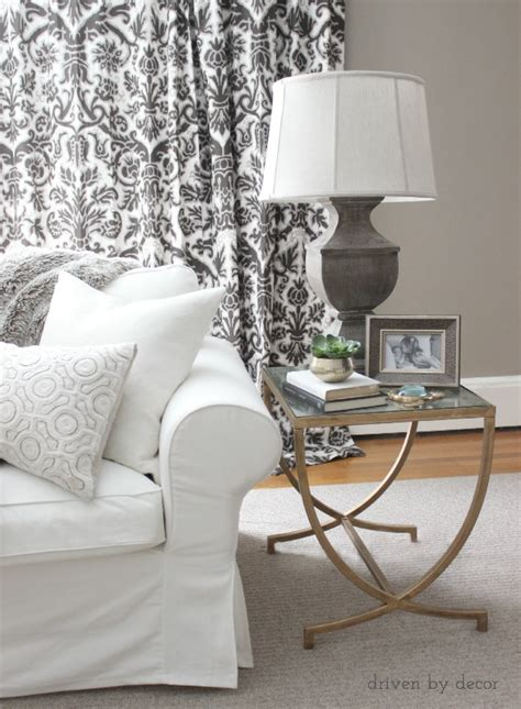 how to decorate a side table in a living room decorating your living room must tips driven by decor