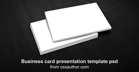 business card presentation template psd 超值收藏 20个免费的商业名片psd模板和原型素材下载
