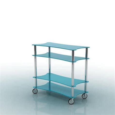 shelf unit on wheels 3d model cgtrader