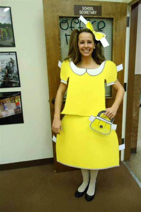How To Make A Paper Doll Costume - costume diy paper doll all hallows