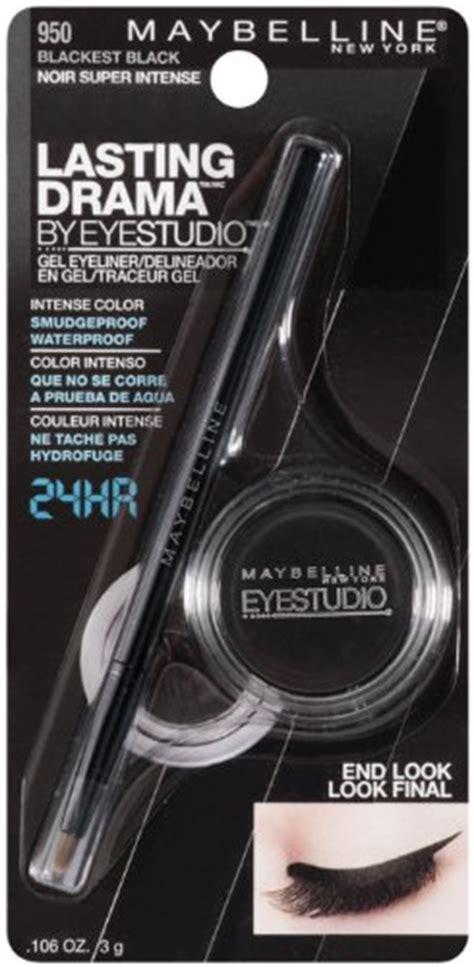 Maybelline New Lasting Drama Gel Eyeliner Original maybelline new york eye studio color gleam eyeshadow
