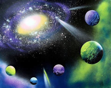 spray paint space hometalk how to do spray paint galaxy
