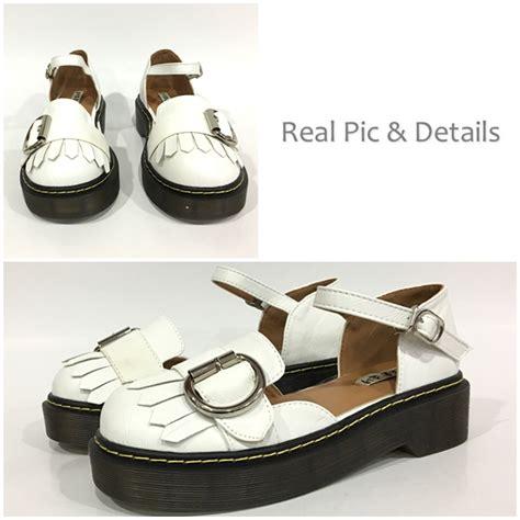 213 1hrm Flat Shoes Wanita jual shs20172 white sepatu fashion modis grosirimpor