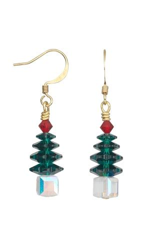 christmas earrings adults jewelry design ideas mountain gems and