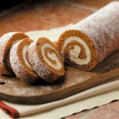 pumpkin cake roll pumpkin roll recipe dishmaps