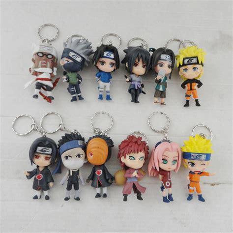 Figure Sasuke Key Chain Set 20b aliexpress buy set pvc anime