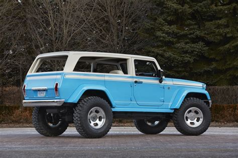 Concept Jeeps Awesome Jeep Chief Concept Leads Six Others To Moab Easter