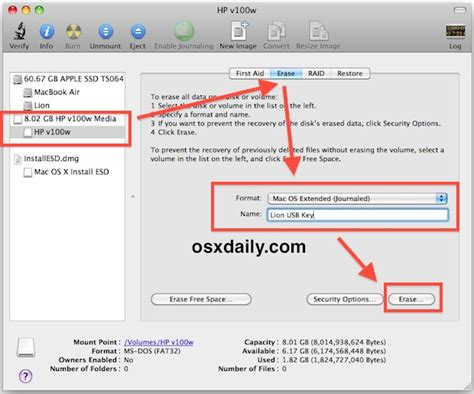format flash disk mac os x insuf computer make a bootable mac os x 10 7 lion