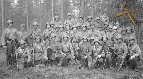 infantry section and platoon in battle finnish army 1918 1945 formations to e part 3
