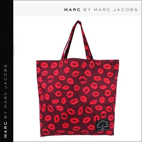 Marc By Marc Safety Net Cotton Shopper by Marc By Marc Lip Big Tote Limited Recycleed