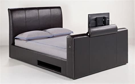 bed frame with built in tv 8 best tv beds with built in tvs qosy
