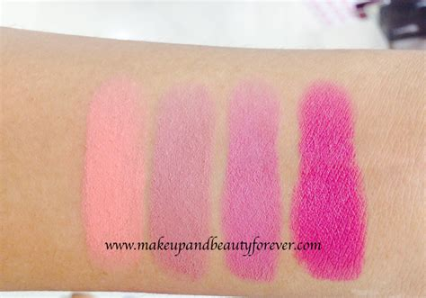 Lipstik Maybelline Color Show Matte all maybelline color show matte lipstick review shades swatches price and details