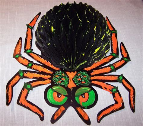 Spider Decorations by A Gallery Of Vintage Beistle Decorations