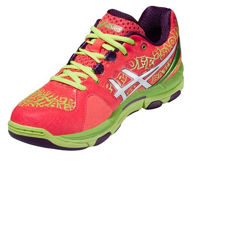 asics gel netburner professional 12 womens green