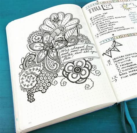 daily doodle insta top 10 instagram accounts for bullet journal ideas