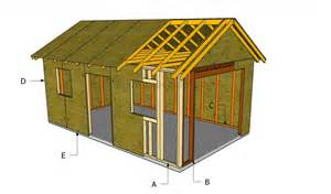 Plans To Build A Garage by How To Build A Detached Garage Howtospecialist How To