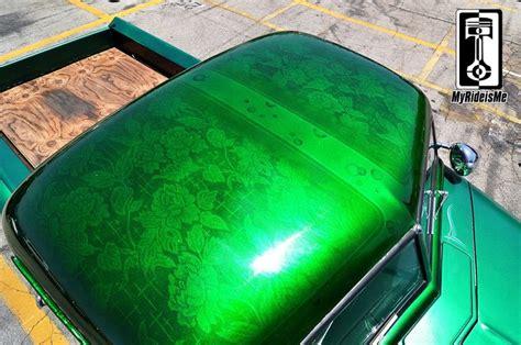 lace pattern paint jobs metal flake paint flaked roof custom paint jobs