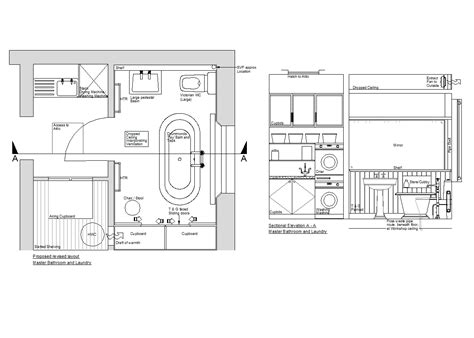 Toilet Layout Dwg | 2d master bathroom design cadblocksfree cad blocks free