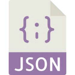 json file free interface icons