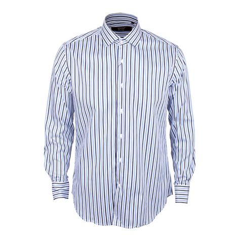 Sleeve Striped Shirt sleeve striped shirt blue black david wej
