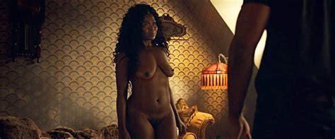 Yetide Badaki Nude Scene From American Gods Scandal Planet