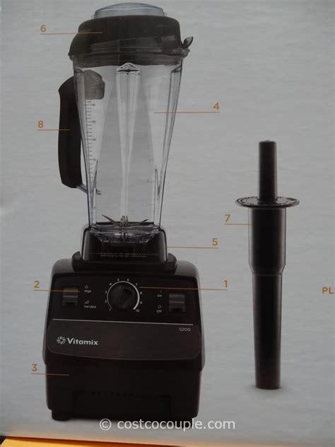 vitamix blender costco vitamix high powered blender 5200s