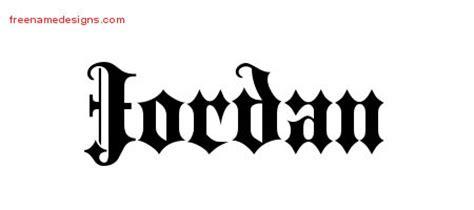 tattoo lettering jordan jordan archives free name designs