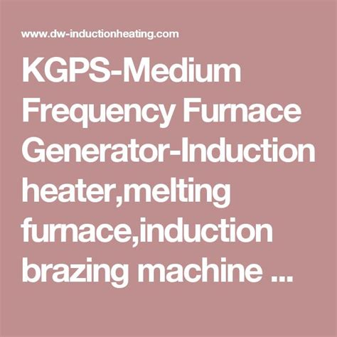 induction generator frequency regulation 149 best images about induction heating system on induction heating copper and