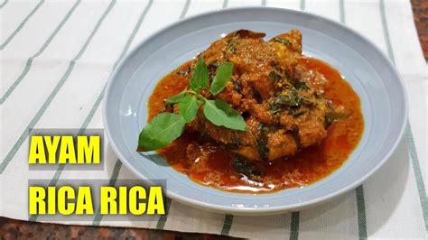 resep ayam rica rica kemangi pedas khas manado lezatnya