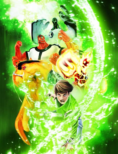 painting ben 10 ba ben 10 poster by leonardoenrique on deviantart