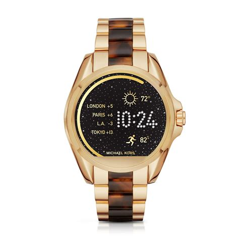 Smartwatch Mk michael kors unveils smartwatch 15 minute news