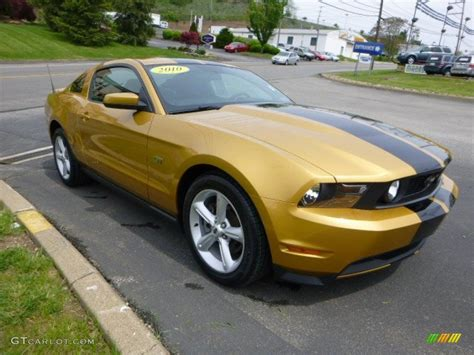 2010 mustang colors 2010 sunset gold metallic ford mustang gt coupe 80895027