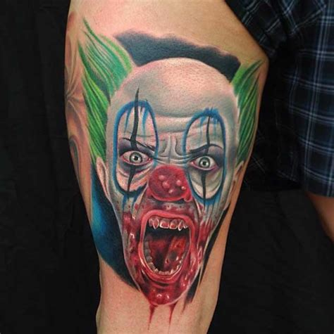 clowns tattoos clown tattoos designs ideas and meaning tattoos for you