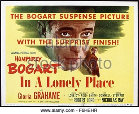 A Place Director 1950 Title In A Lonely Place Director Nicholas Studio Stock Photo Royalty Free