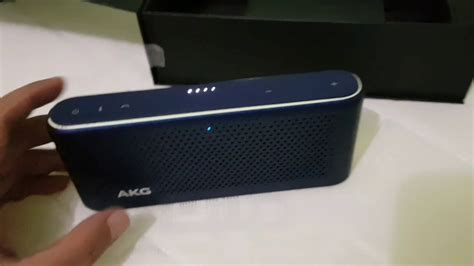 Akg S30 Blutooth Speaker unbox review bluetooth speaker akg s30