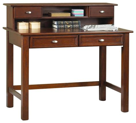 fashioned student desk home styles furniture hanover wood student writing desk
