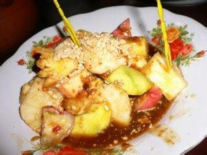 resep rujak buah  enak   resep memasak
