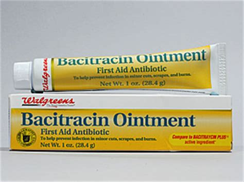 bacitracin tattoo medicine information kaiser permanente
