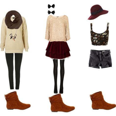 what to wear with brown suede ankle boots polyvore