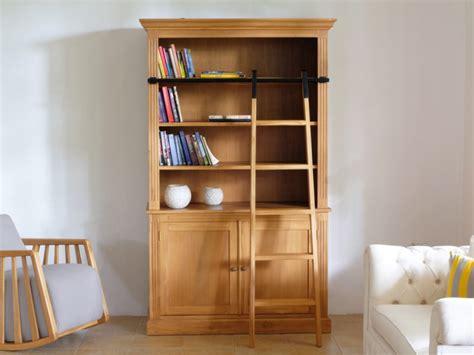 bibliothek regale kaufen bibliothek teak massiv loft ii mit leiter g 252 nstig kaufen