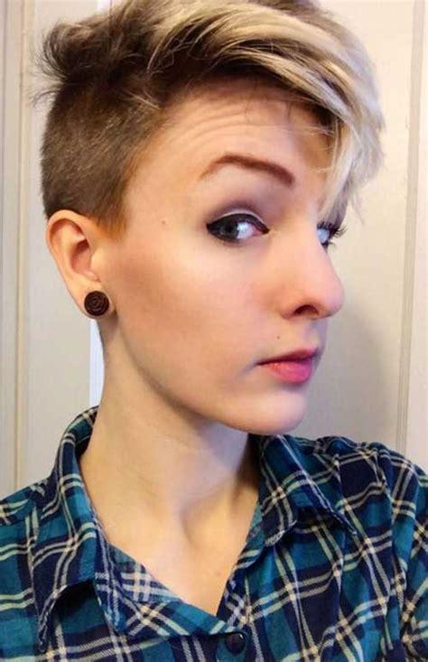 half shaved pixie haircut 40 half shaved pixie cut pixie cut 2015