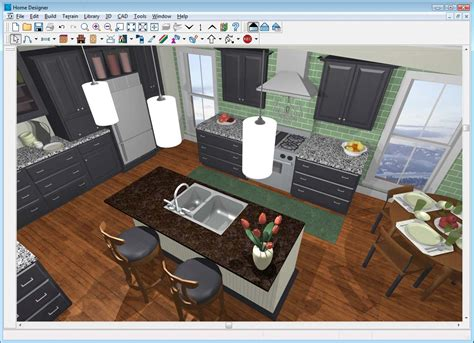 free 3d kitchen design best free 3d kitchen design software 1363